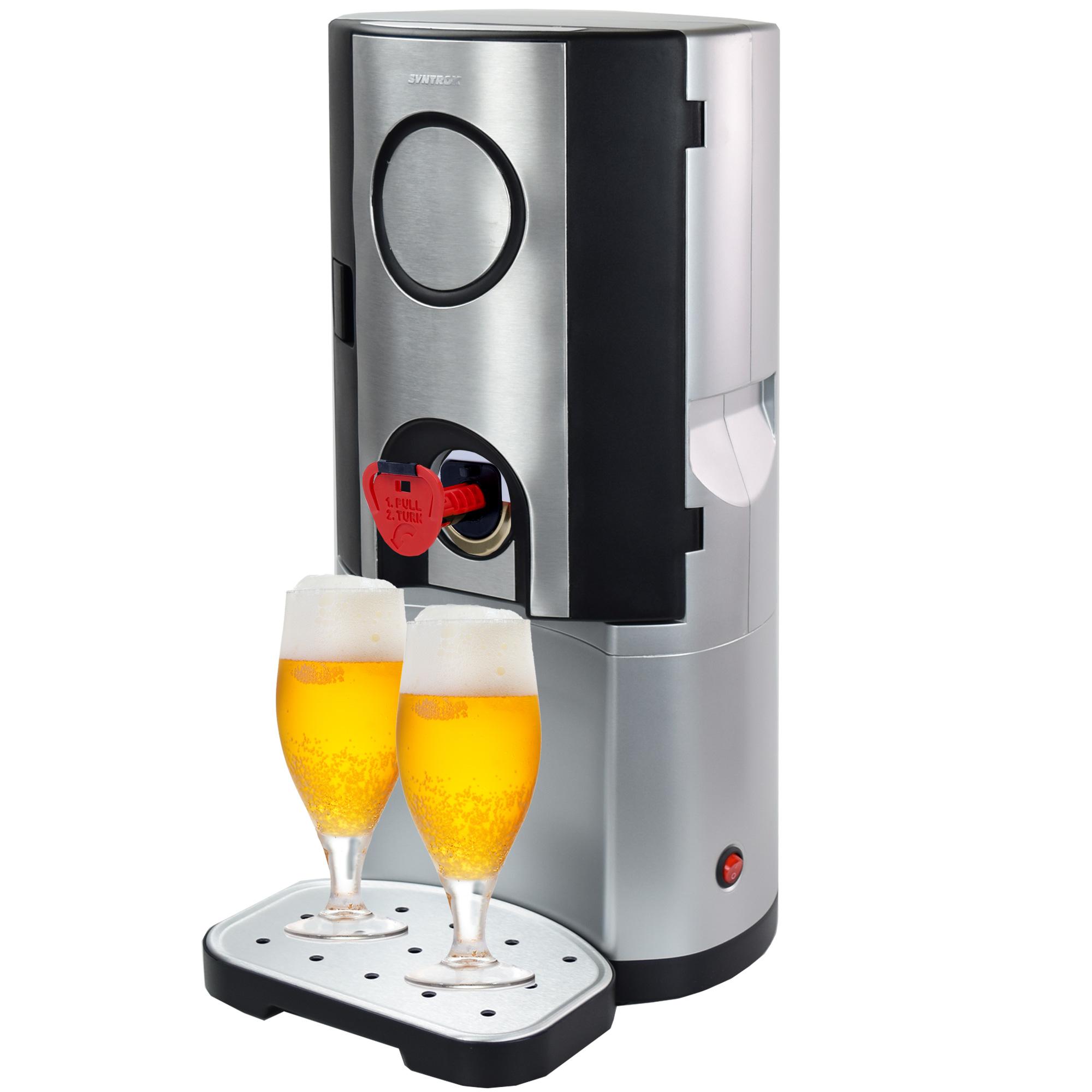 Bierk hler zapfanlage bierzapfanlage mit k hlung 5 liter for Bierkuhler garten