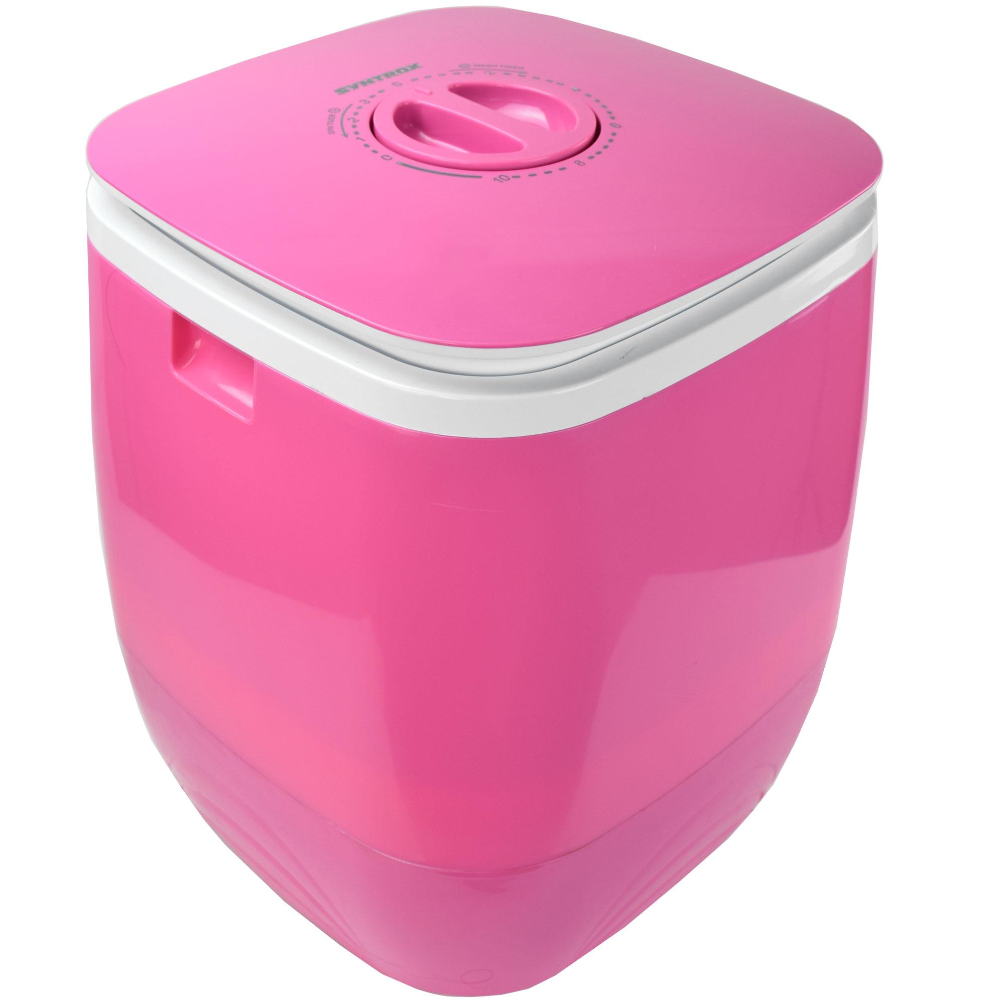 toplader schleuder single camping kleine klein mini waschmaschine 150w pink ebay. Black Bedroom Furniture Sets. Home Design Ideas