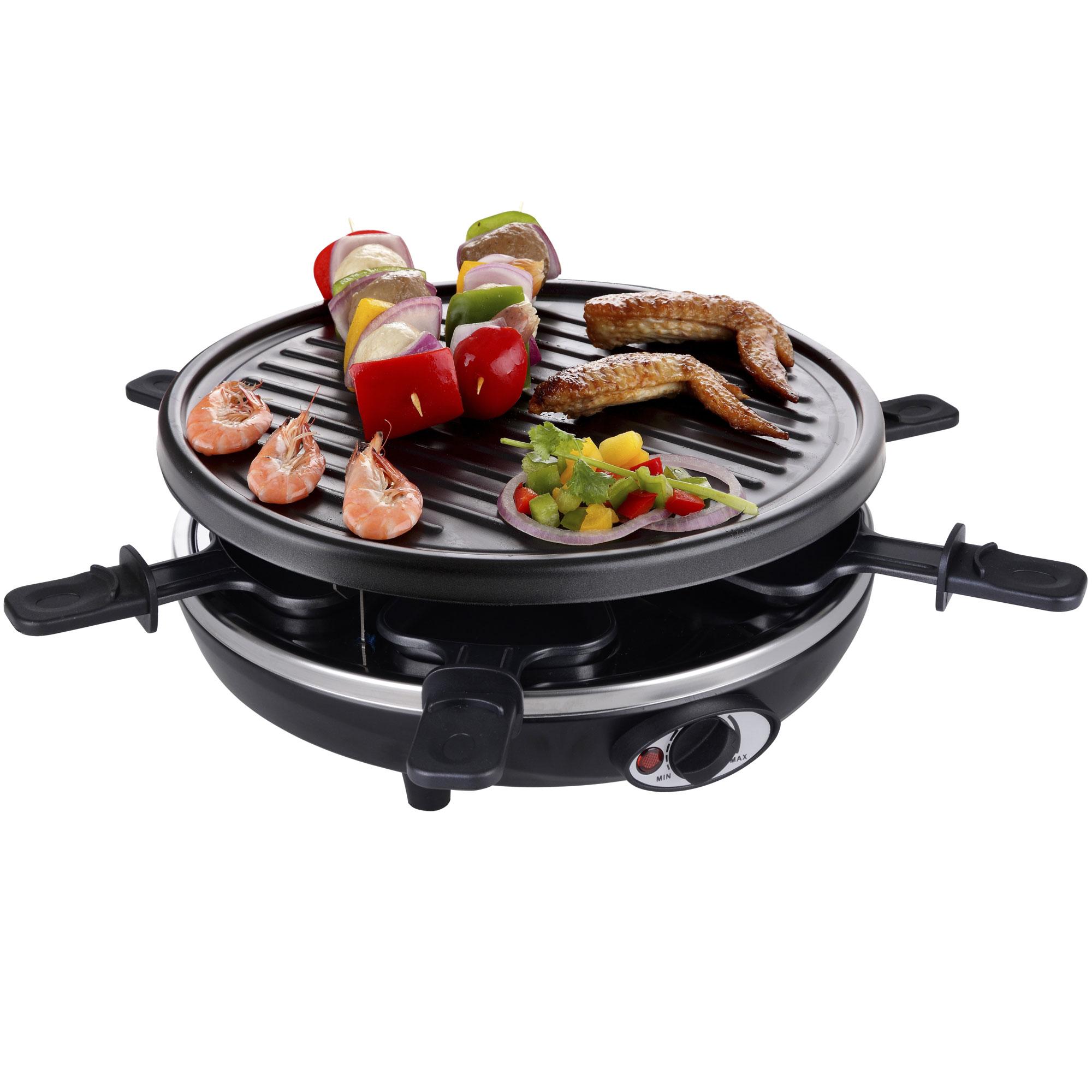 elektro raclette tischgrill pfannkuchen pancakemaker grill. Black Bedroom Furniture Sets. Home Design Ideas